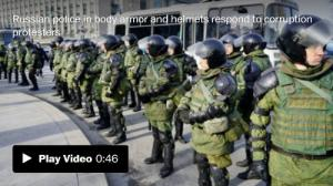 <font color='#0000ff'>[Video] Hundreds arrested at anti-corruption protests in Russia</font>