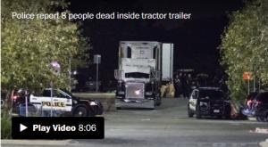 <font color='#0000ff'>[Video] 9 dead in sweltering truck in suspected smuggling case in Texas</font>