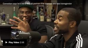 <font color='#0000ff'>[Video] Comedian Lil Duval says he would kill a sexual partner if he learned she was a transgender woman</font>