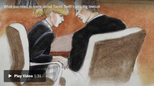 <font color='#0000ff'>[Video] Taylor Swift testifies in groping trial: 'It was a definite grab. A very long grab'</font>