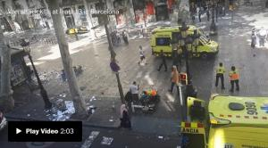<font color='#0000ff'>[Video] Spanish probe points to wider network in attacks; American among dead</font>
