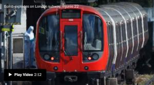 <font color='#0000ff'>[Video] Police search for assailant who detonated bomb in London subway car, injuring at least 29</font>